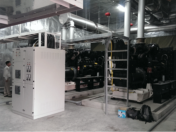2 x AJ1375 Perkins powered generating sets.