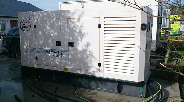 AJ220 AGCO Power generating set supplied for second site.