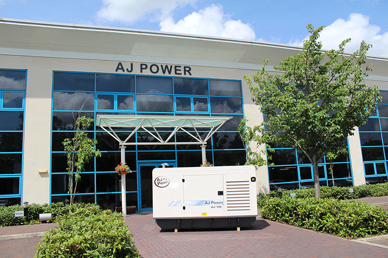 AJ138 canopied generating set