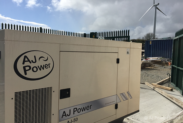 AJ50 for Wind Farm in Ireland