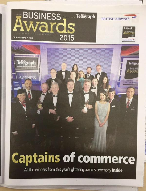 AJ Power in the Press -  Excellence in Exporting Award