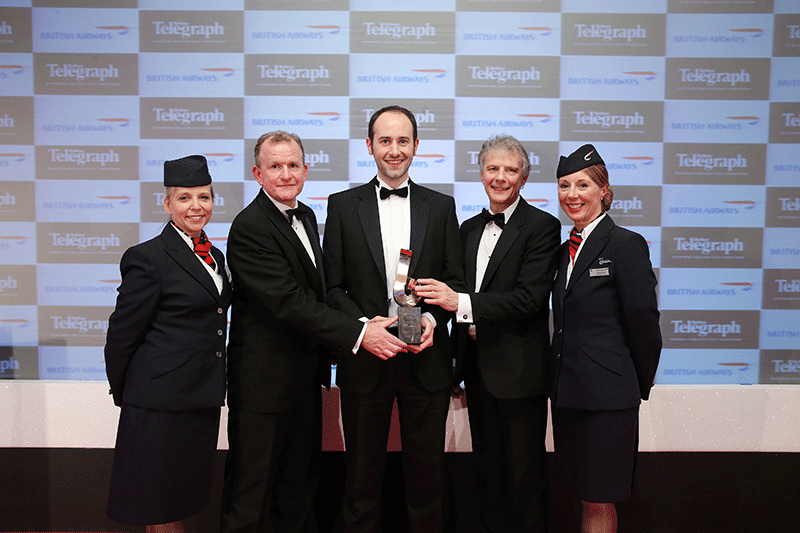 British Airways Sponsored Company of the Year Award 2014