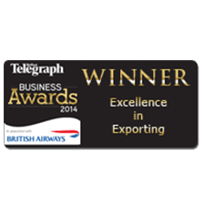 British Airways Sponsored Award for Excellence in Exporting 2014