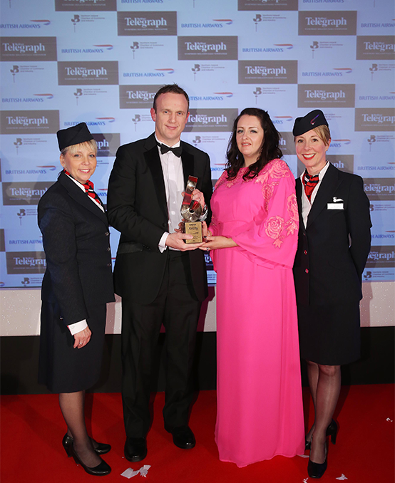 British Airways Sponsored BelTel Awards - Excellence in Exporting Award 2015