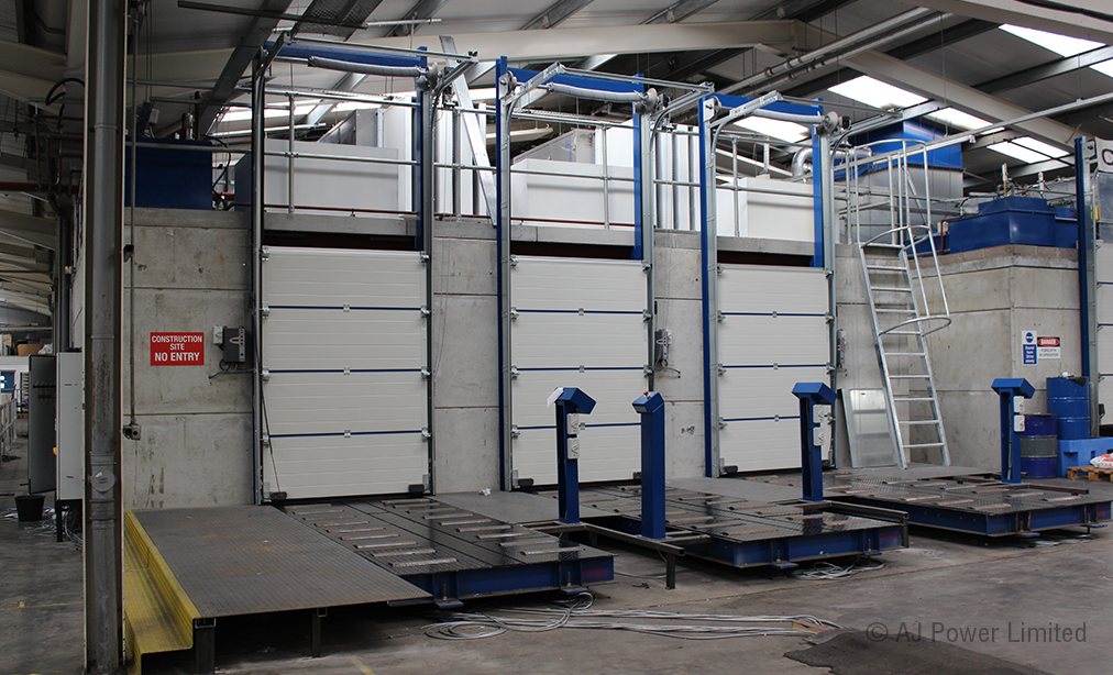 New state-of-the-art test cells are nearing completion