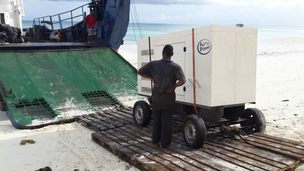 AJ66 just delivered to Island resort in Indian Ocean