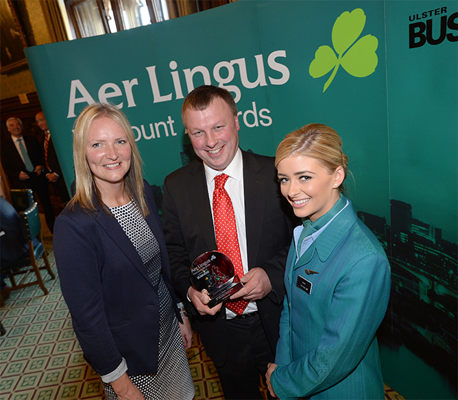 Aer Lingus Viscount Award for Best Medium Business 2015
