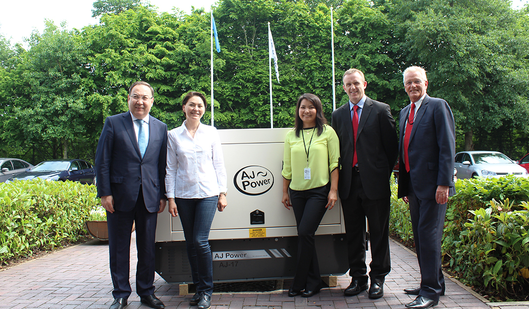 AJ Power  Welcomes Kazakhstan Ambassador in June 2016
