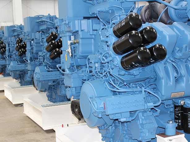 MTU 16V4000G83 engines were supplied