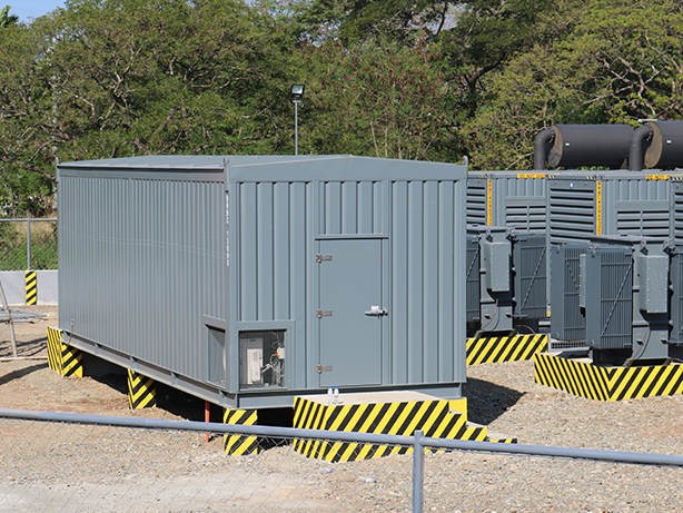 16MW Power Plant Project - switchgear container