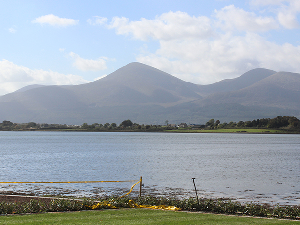 Breathtaking views over the Mountains of Mourne.