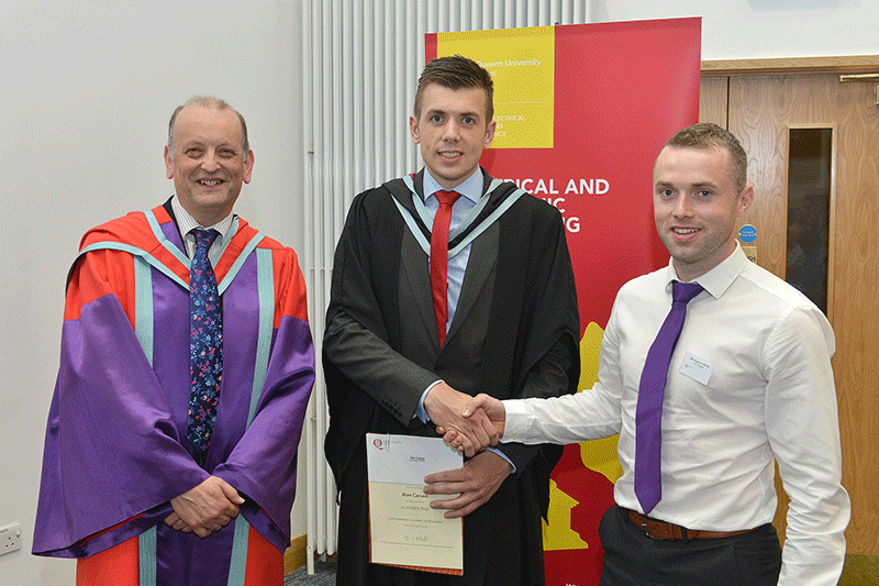 Winner of the AJ Power Prize at Queen's University, Belfast